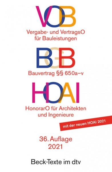 VOB/ BGB/ HOAI