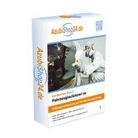 AzubiShop24.de Basis-Lernkarten Fahrzeuglackierer /-in. Prüfungsvorbereitung