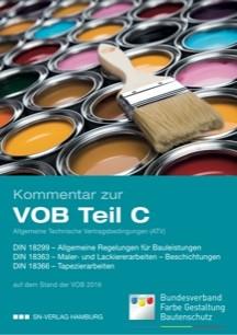 VOB Kommentar zur DIN 18363 Maler- und Lackierarbeiten