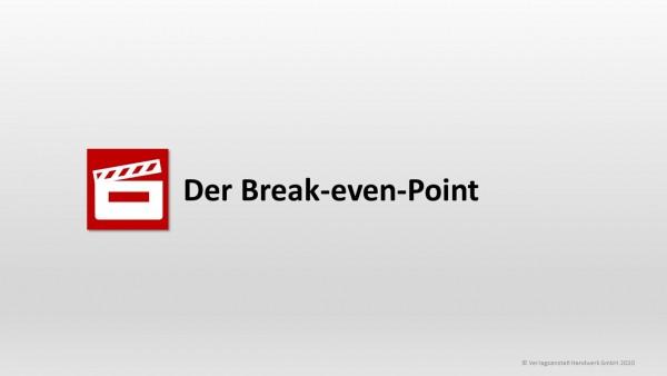 Der Break-even-Point