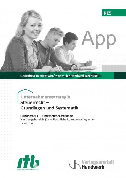 RE5 - Steuerrecht - Grundlagen und Systematik