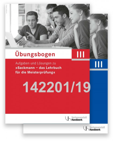 Übungsbogen für die Meisterprüfung Teil III mit Lösungen