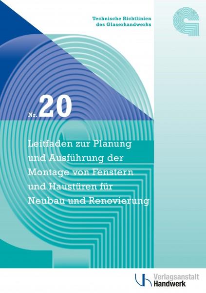 Technische Richtlinie Nr. 20 inkl. 1 Baustellen-Handbuch