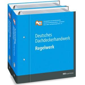 Fachregeln Dachdecker- Handwerk (2 Ordner)
