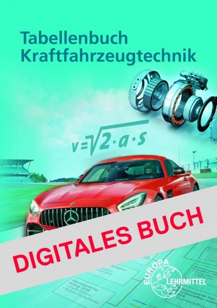 Tabellenbuch KFZ - Digitales Buch