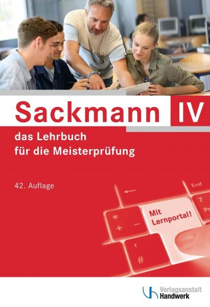 Sackmann - das Lehrbuch für die Meisterprüfung, Teil IV
