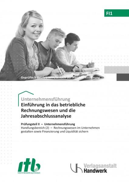FI1- Einführung in das betriebliche Rechnungswesen u. d.Jahresabschlussanalyse