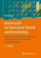 Mathematik für Fachschule Technik