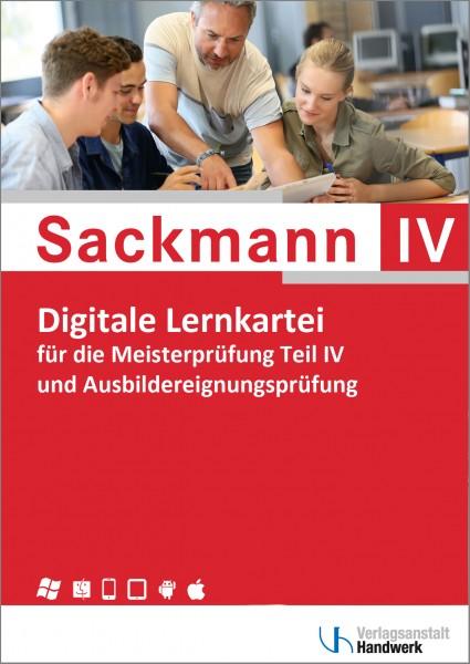Digitale Lernkartei zum Sackmann - das Lehrbuch für die Meisterprüfung, Teil IV