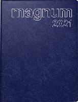 rido/idé 7027042381, Wochenkalender/Buchkalender 2021 Modell magnum, Schaumfolien-Einband Catana, d