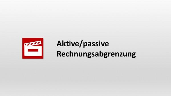 Aktive/passive Rechnungsabgrenzung