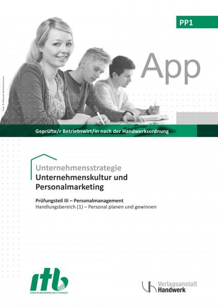 PP1 - Unternehmenskultur und Personalmarketing DIGITAL