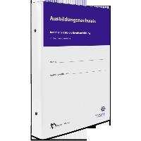 Ausbildungsnachweis - Berichtsheft für die Berufsausbildung im Bauhauptgewerbe