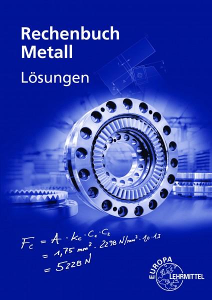 Lösungen zum Rechenbuch Metall