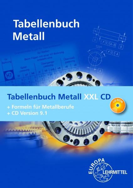 Tabellenbuch Metall XXL