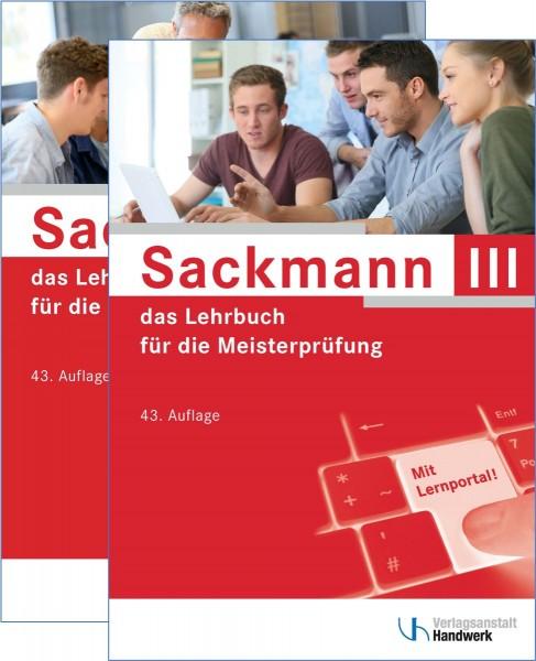 Sackmann - das Lehrbuch für die Meisterprüfung, Paket: Teil III (1402/43) u. Teil IV (1404/43)