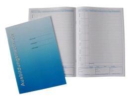 Ausbildungsnachweisheft - tägliche oder wöchentliche Eintragung der Berichte