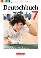 Deutschbuch 7. Schuljahr. Gymnasium Nordrhein-Westfalen. Arbeitsheft mit Lösungen