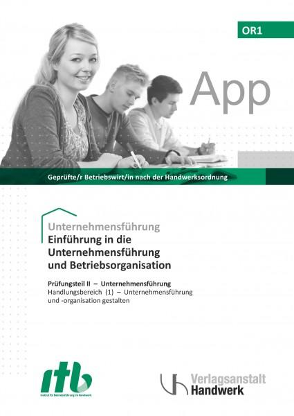 OR1- Einführung in die Unternehmesführung u. Betriebsorganisation